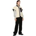 3.1 Phillip Lim Off-White Sherpa Bonded Cocoon Vest