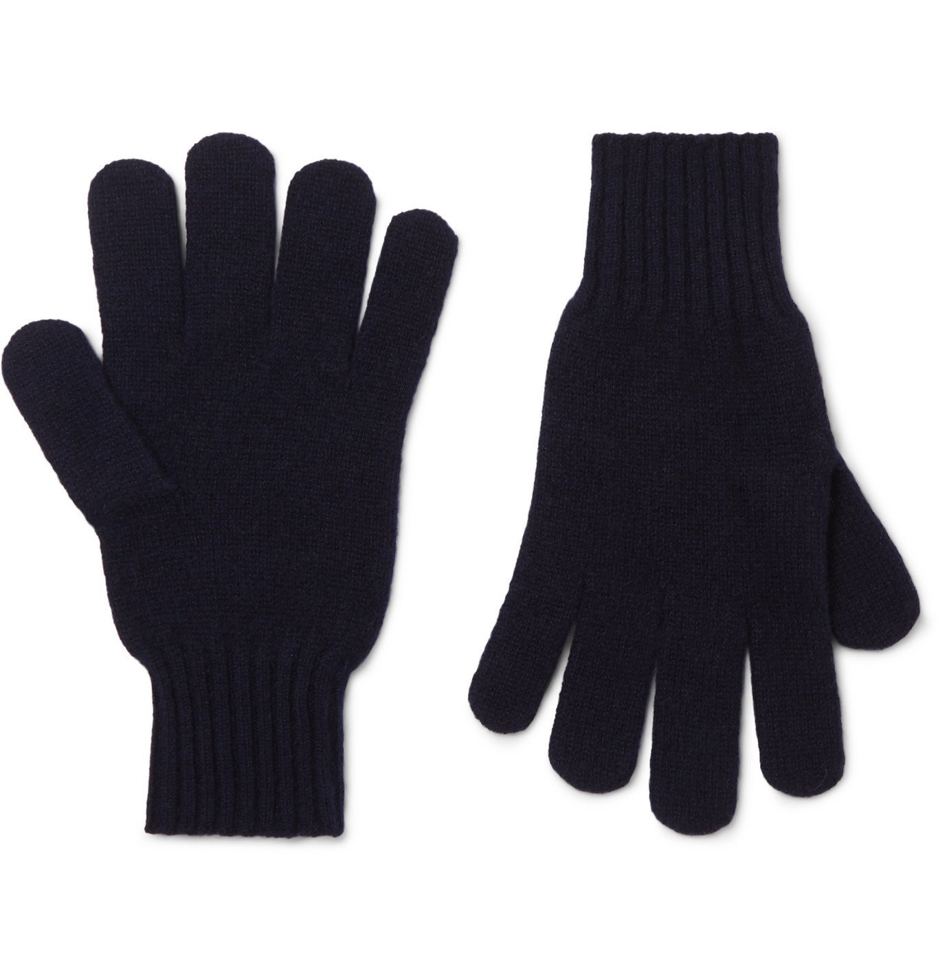 Photo: Rubinacci - Cashmere Gloves - Black