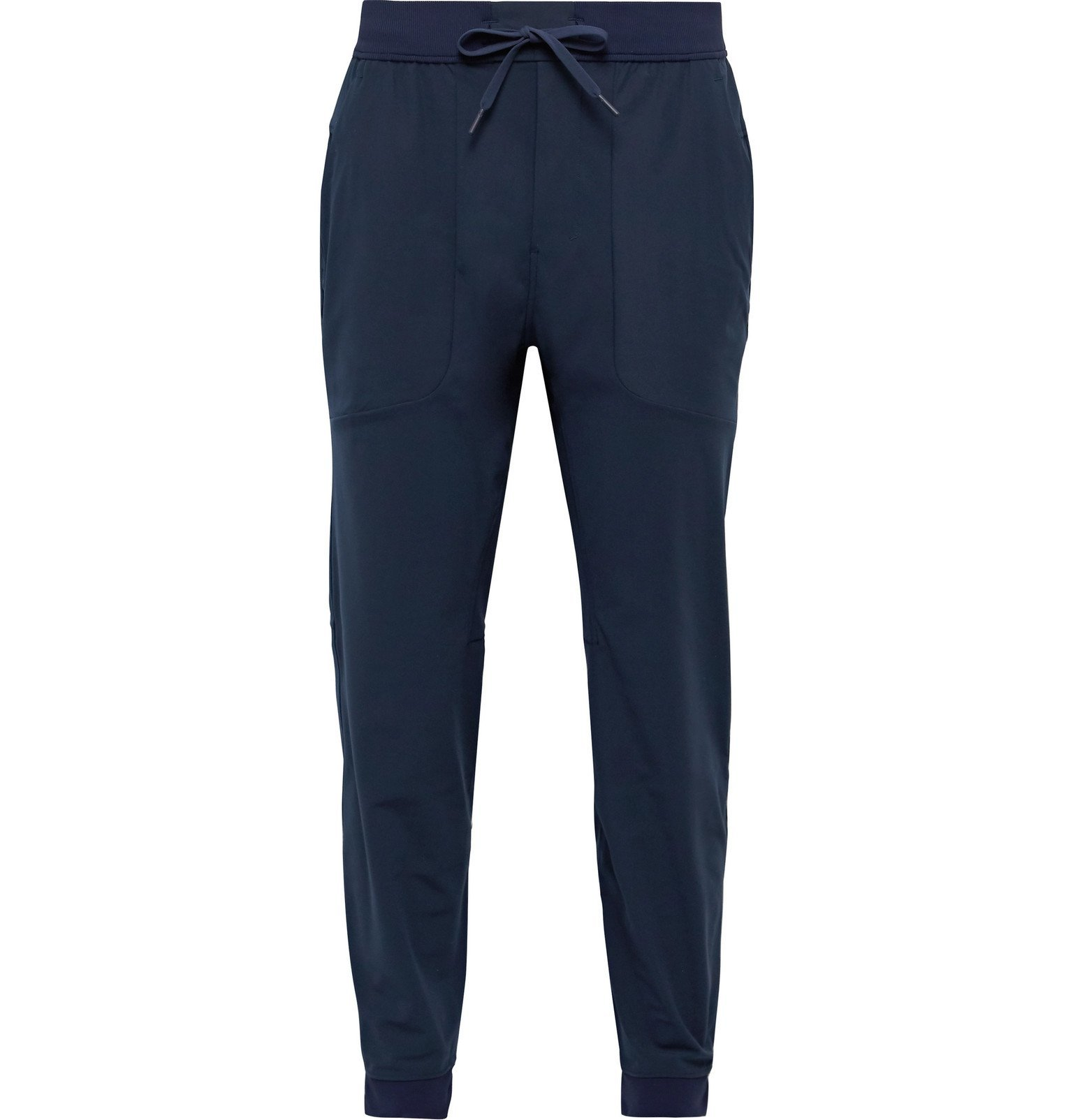 Photo: Lululemon - ABC Tapered Warpstreme Drawstring Trousers - Blue
