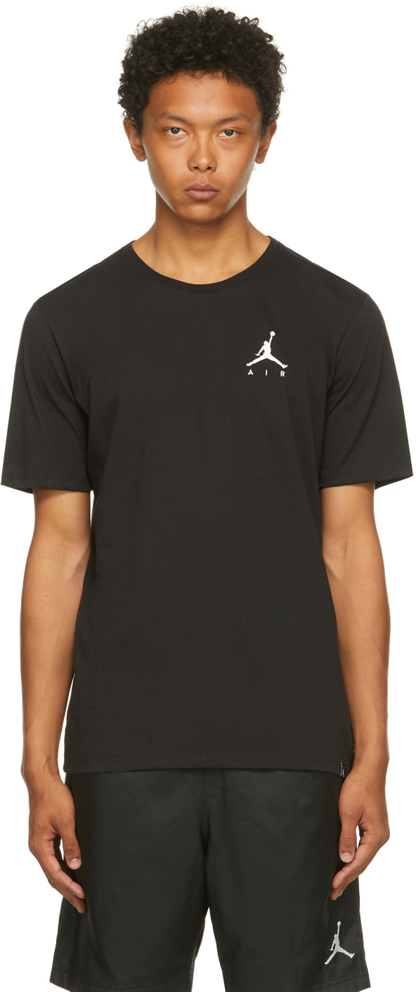 Photo: Nike Jordan Black Jordan Jumpman Air T-Shirt