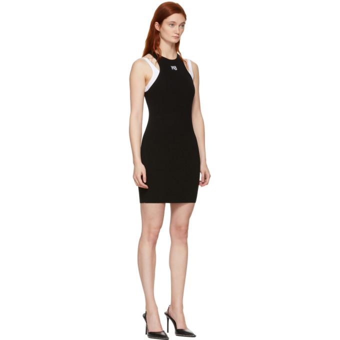 alexanderwang.t Black Foundation Bodycon Dress