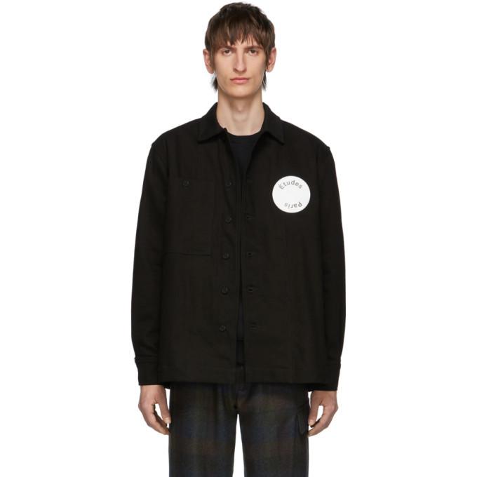 Photo: Etudes Black Denim Journey Jacket