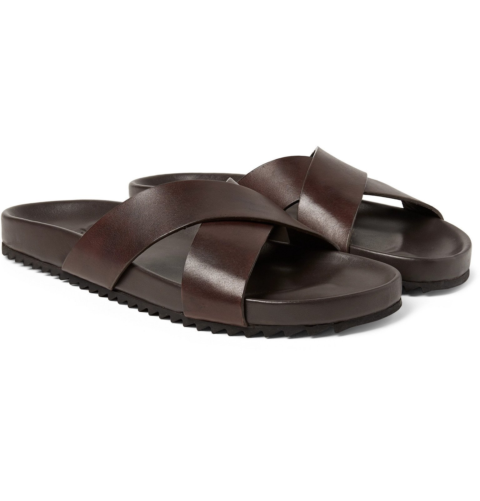 Photo: Grenson - Leather Sandals - Brown