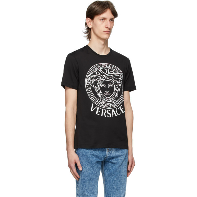 Versace SSENSE Exclusive Black Medusa T-Shirt