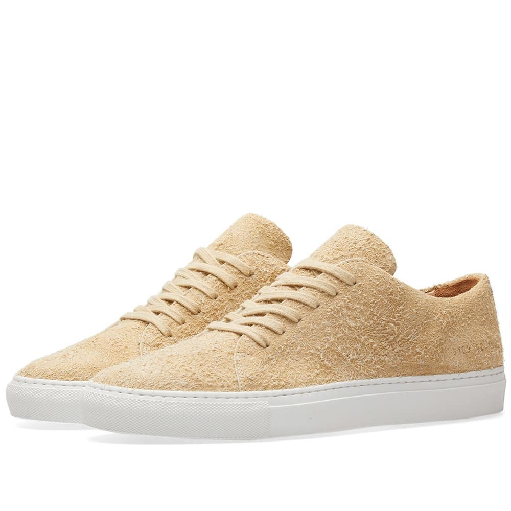 Common Projects Court Low Suede Neutrals