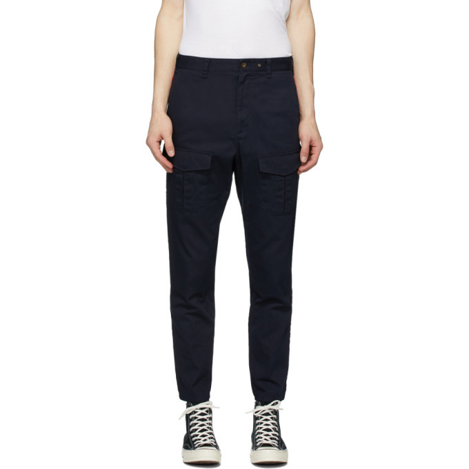 Photo: rag and bone Navy Corbin Cargo Pants