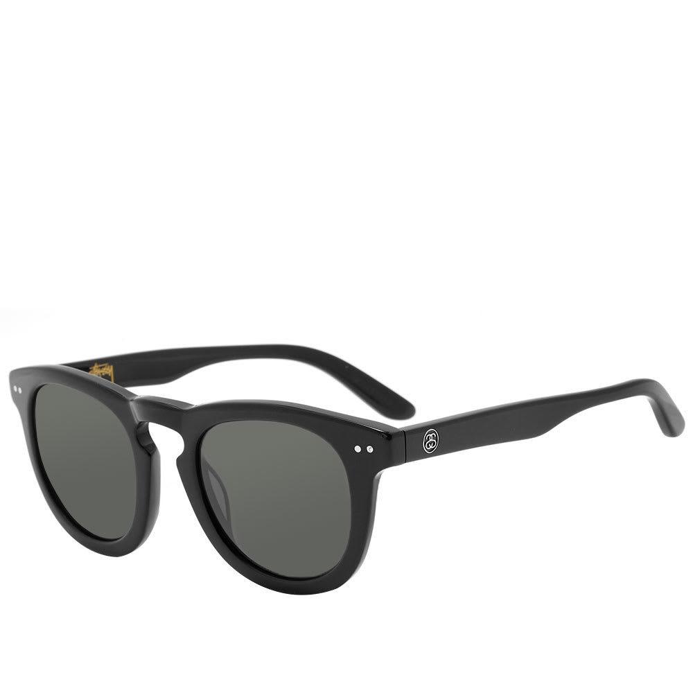 Photo: Stussy Luigi Sunglasses Black & Dark Grey