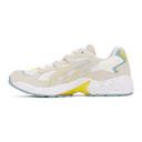 Asics White and Grey Gel-Kayano 5 OG Sneakers
