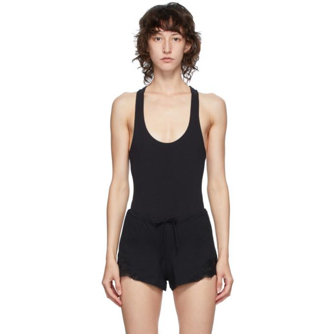 Photo: La Perla Black Spalla Bodysuit