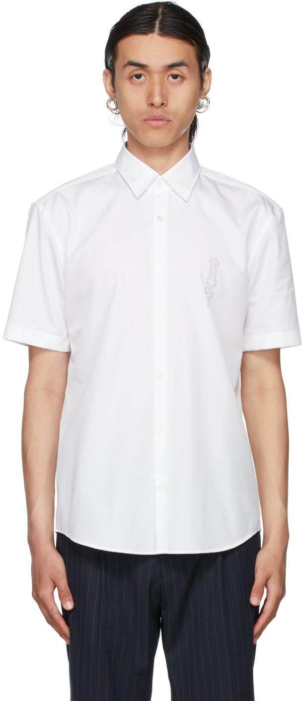 Photo: Hugo White Ermino Short Sleeve Shirt