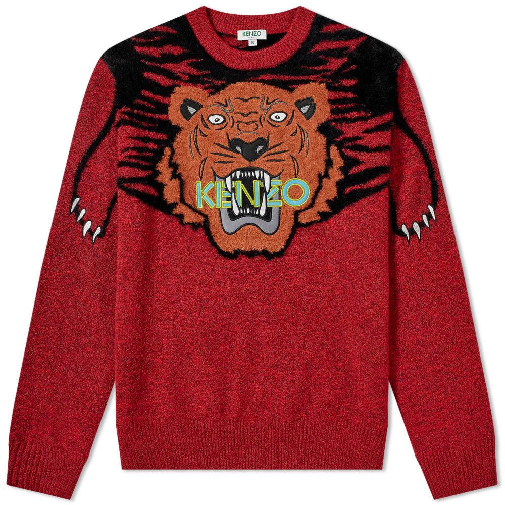 Photo: Kenzo Claw Tiger Crew Knit
