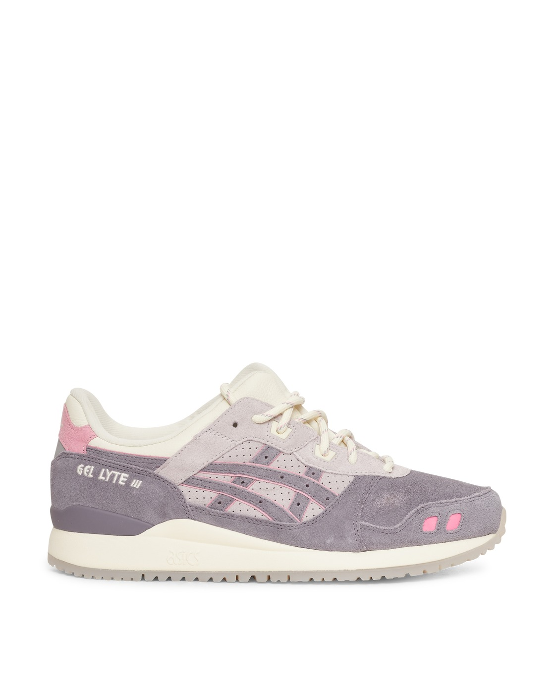Photo: Asics End Gel Lyte Iii Og Sneakers Lavender Grey/Ivory