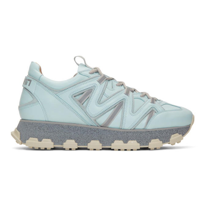 Photo: Lanvin Blue Lightning Sneakers