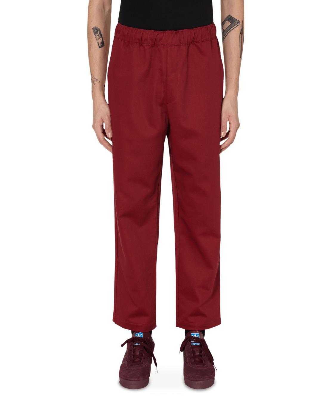Adidas Originals Jonah Hill Chino Pants Noble Maroon