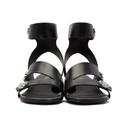 3.1 Phillip Lim Black 30MM Drum Sandals