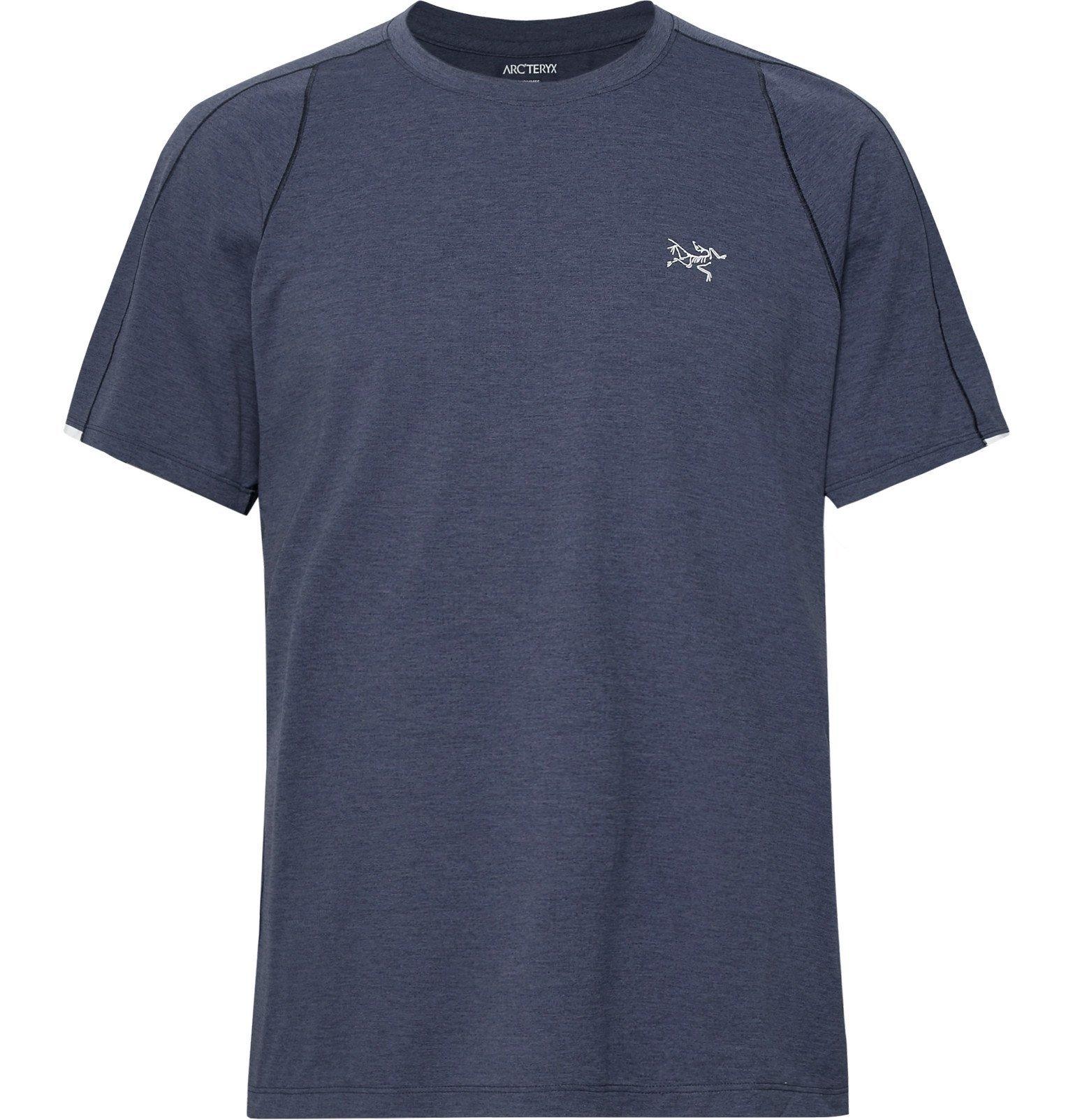 Photo: Arc'teryx - Cormac Ostria T-Shirt - Blue