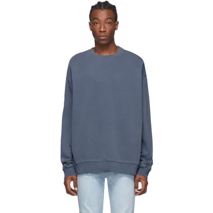 Photo: Ksubi Blue Biggie Crewneck Sweatshirt