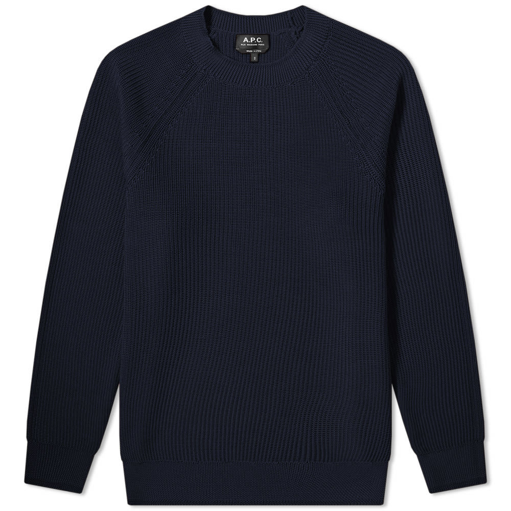 Photo: A.P.C. Basket Knit Crew Sweat