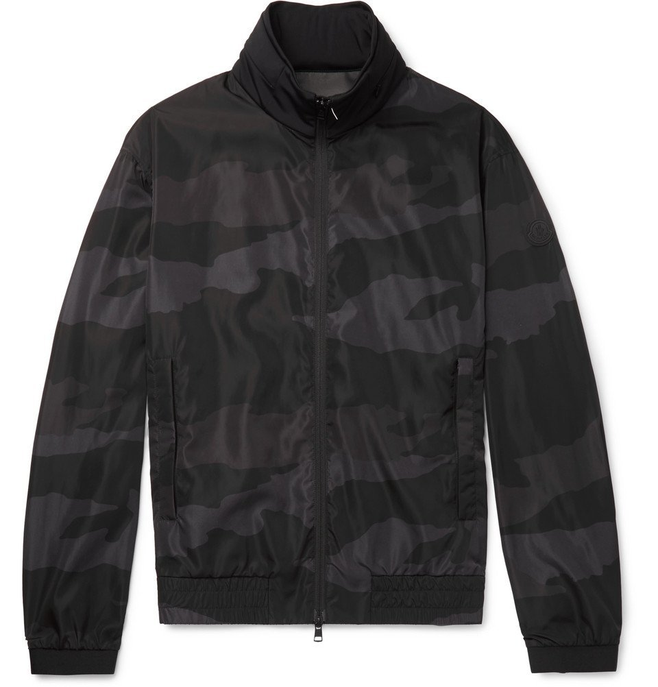 Photo: Moncler - Theodore Camouflage-Print Shell Jacket - Black