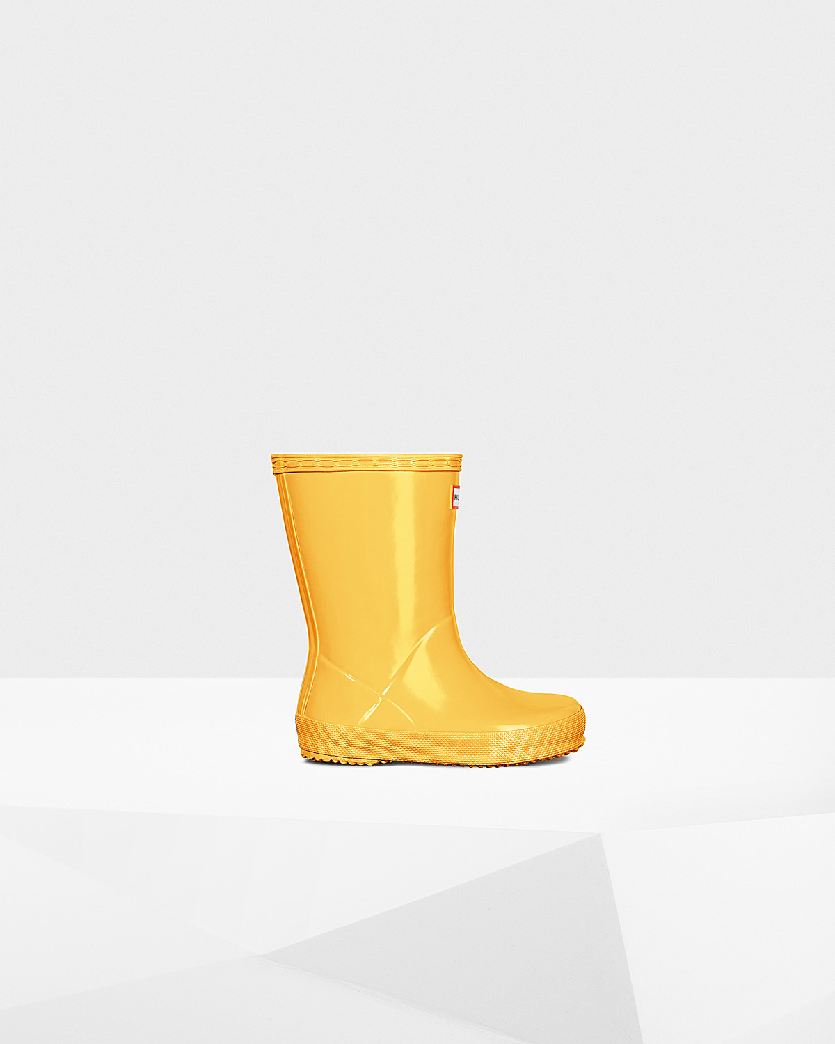 Photo: Original Kids First Classic Gloss Rain Boots