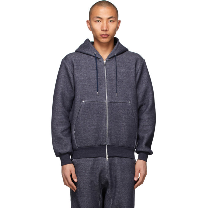 Photo: Fumito Ganryu Navy Ventilation Parker Hoodie
