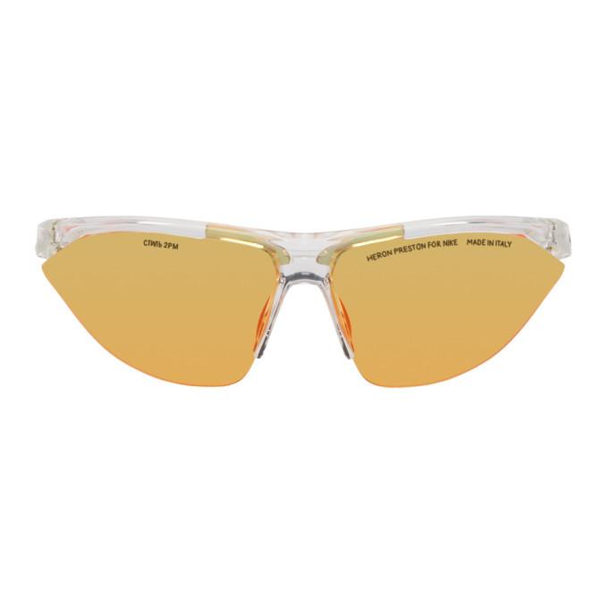 Photo: Heron Preston Transparent Nike Edition Tailwind Sunglasses