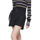 3.1 Phillip Lim Navy Pinstripe Origami Shorts