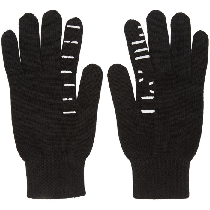 Photo: Unravel Black Cashmere Tattoo Gloves
