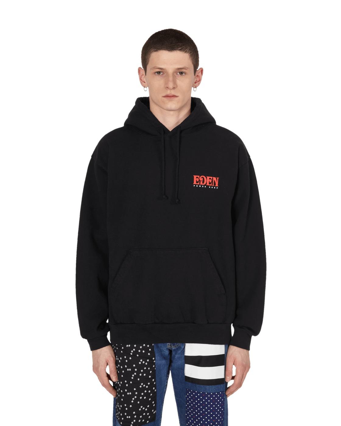 Eden Power Corp Eden Recycled Hooded Sweatshirt Black