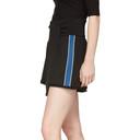 3.1 Phillip Lim Black and Blue Waist Tie Shorts
