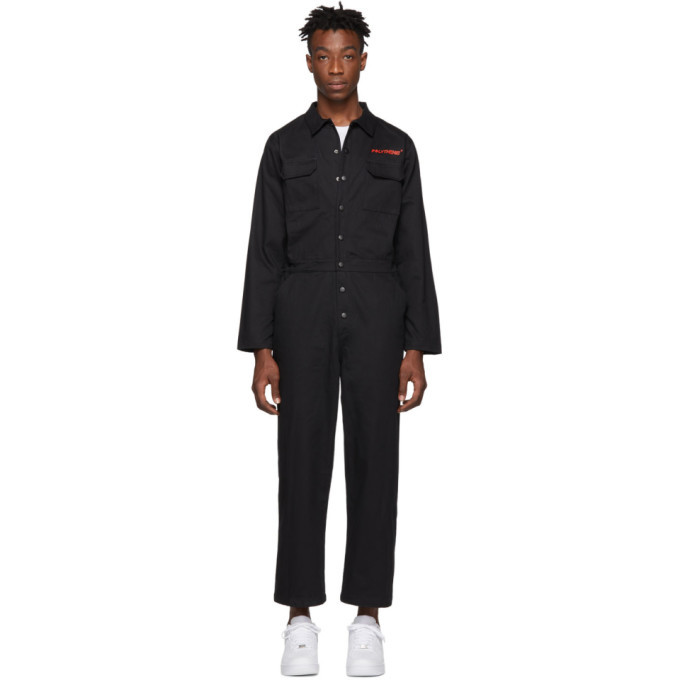 Photo: Polythene* Optics Black Boiler Jumpsuit