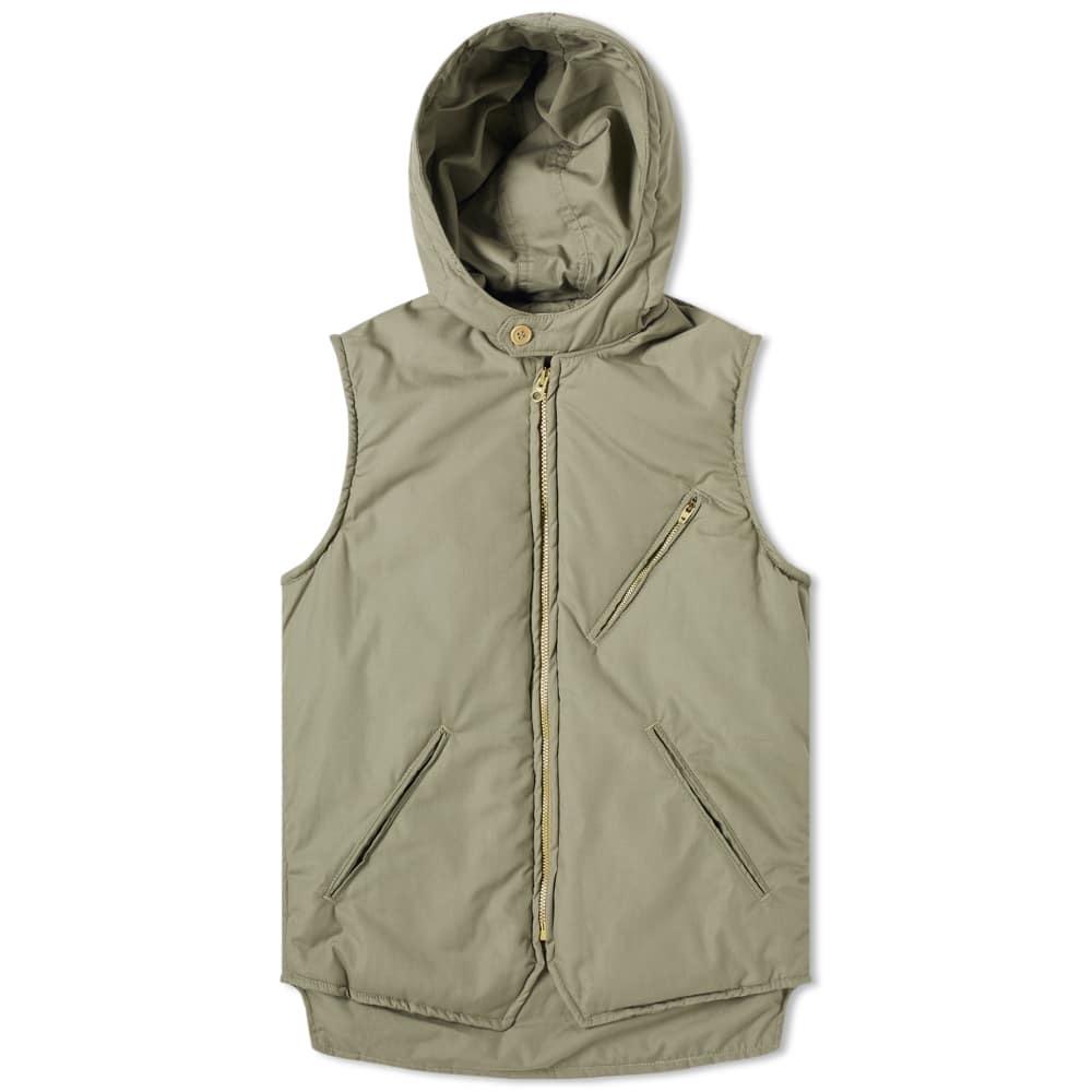 Photo: Post Overalls E-Z Cruz Hooded Vest Sage
