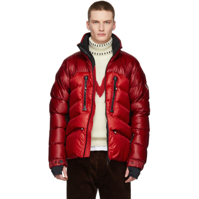 Photo: Moncler Grenoble Red Down Braies Jacket