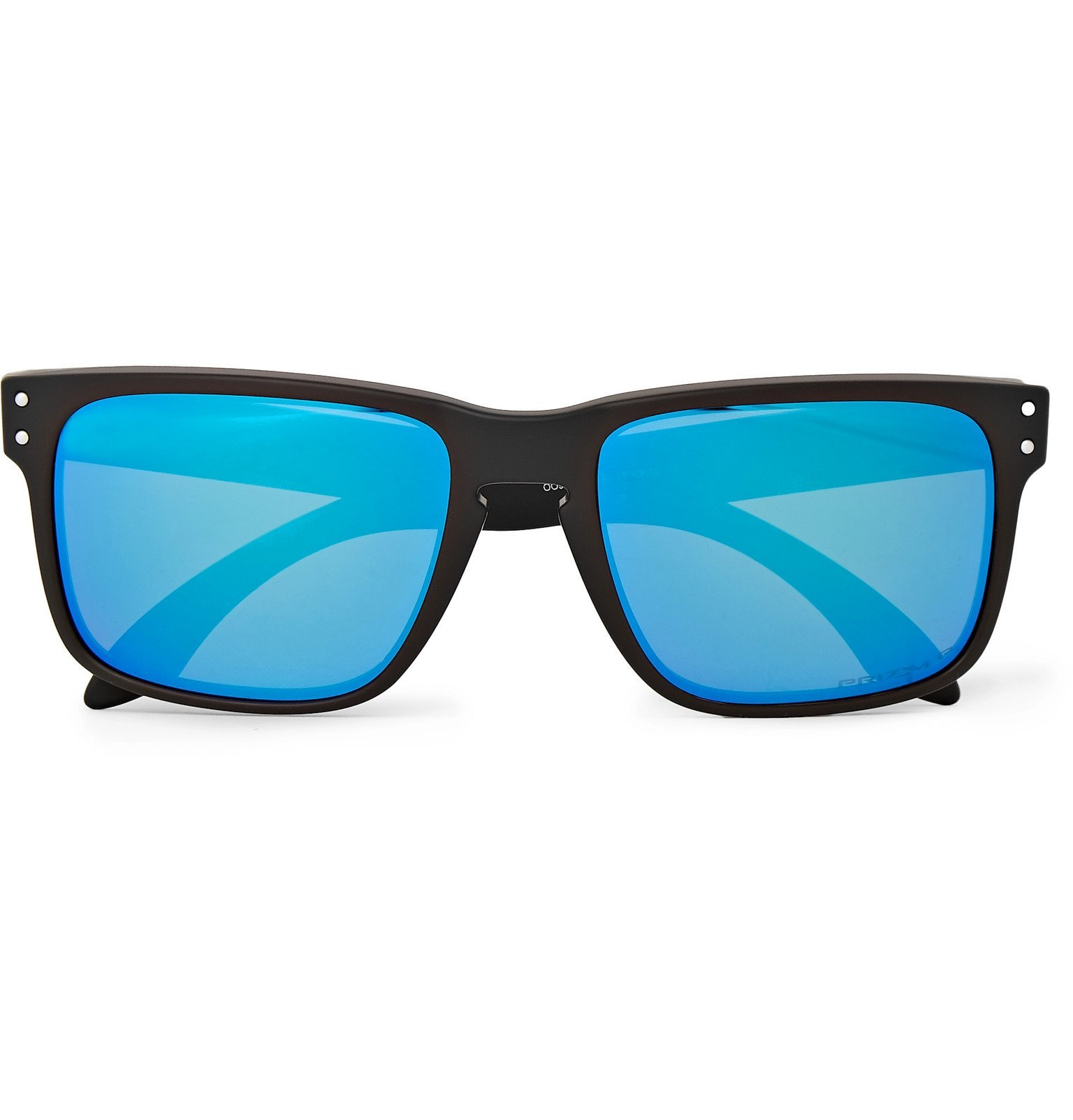 Photo: Oakley - Holbrook Square-Frame Acetate Polarised Sunglasses - Black