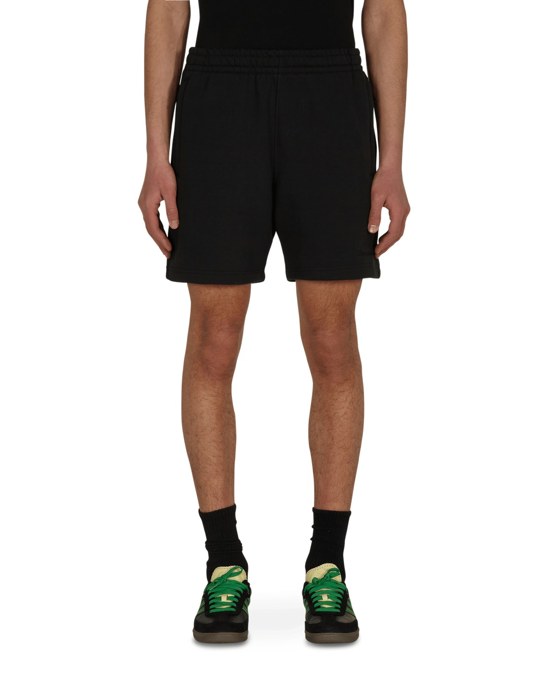 Photo: Adidas Originals Pharrell Williams Basics Sweatshorts Black