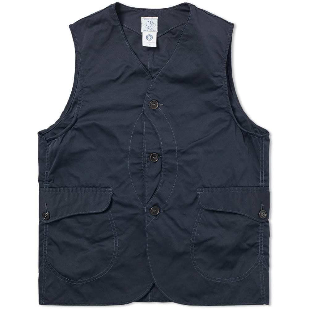Photo: Post Overalls Royal Traveller Vest Blue