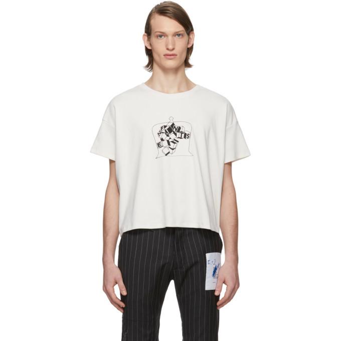 Photo: Enfants Riches Deprimes White Nouveau Echecs T-Shirt
