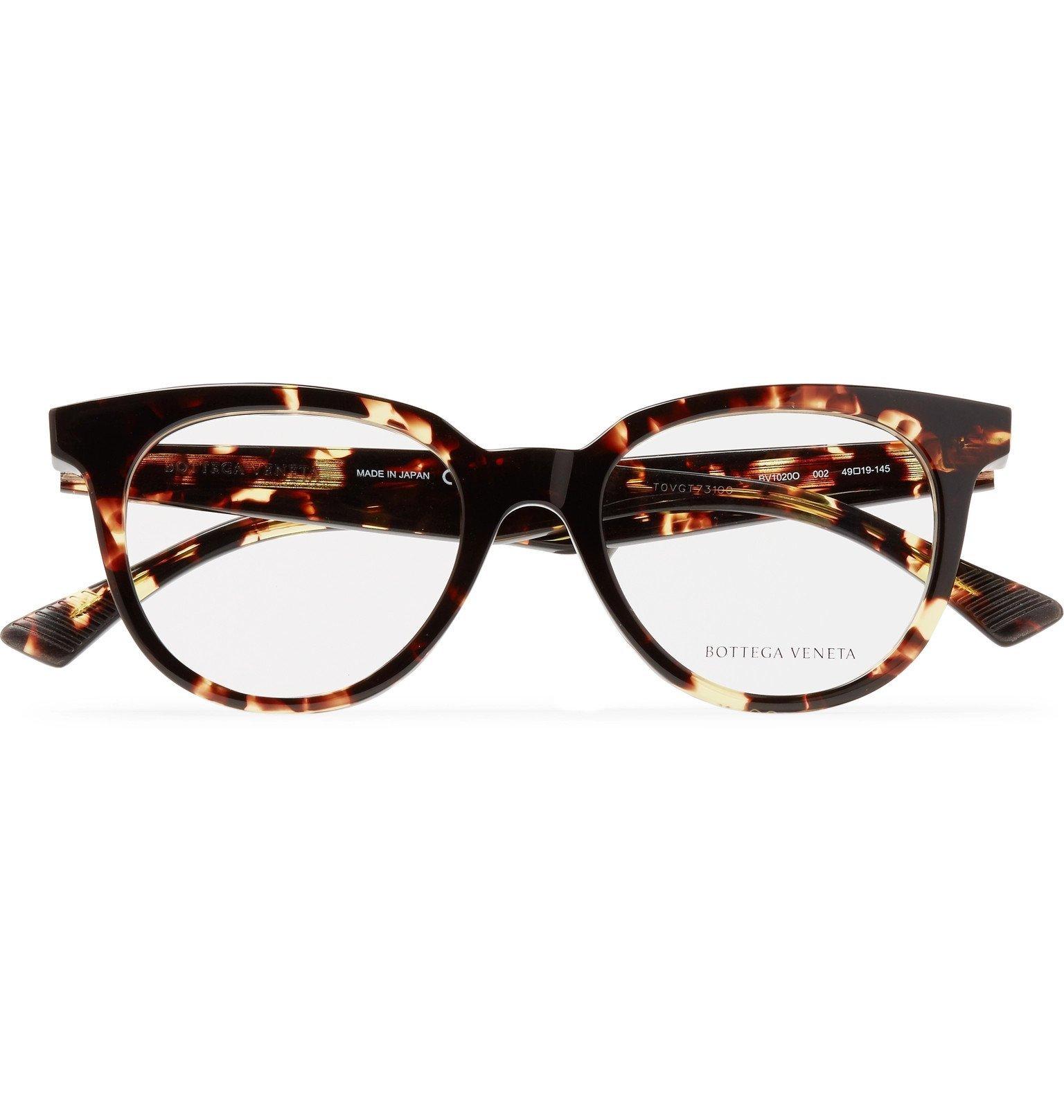 Photo: Bottega Veneta - D-Frame Tortoiseshell Acetate Optical Glasses - Tortoiseshell