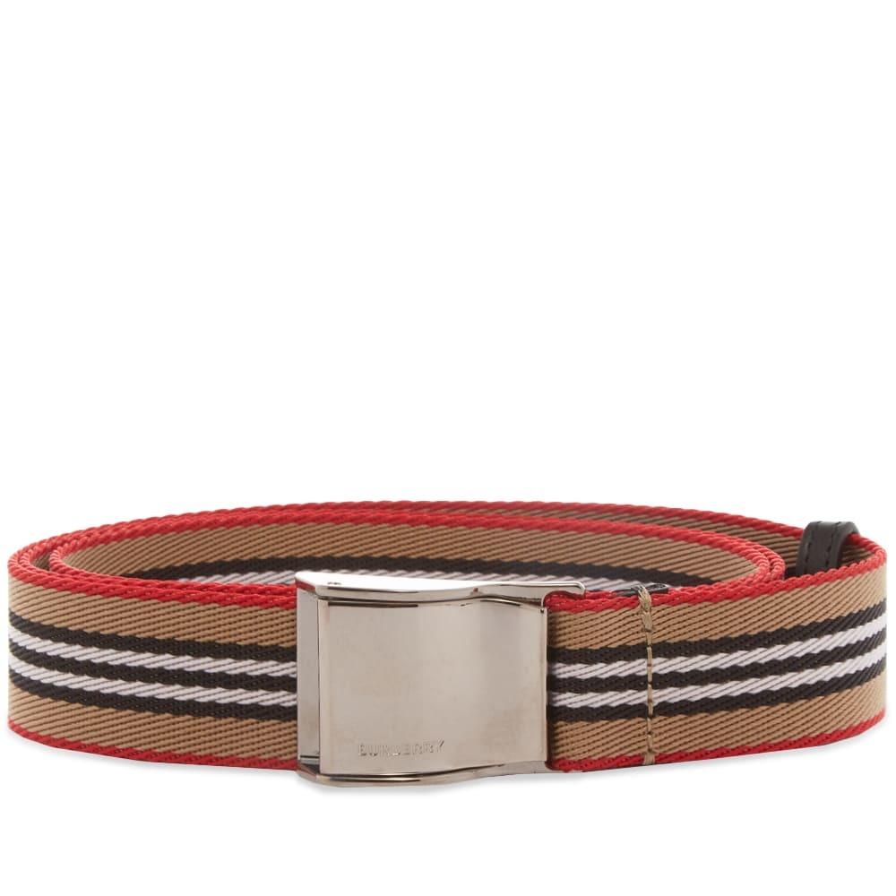 Photo: Burberry Icon Stripe Seatbelt Belt
