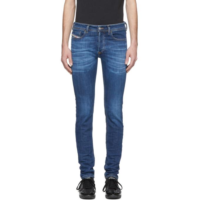 Photo: Diesel Indigo Sleenker Jeans
