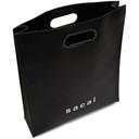 Sacai Black Medium Shopper Tote
