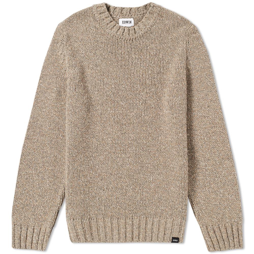 Edwin Dock Crew Knit