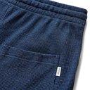 Schiesser - Hugo Textured-Cotton Drawstring Shorts - Blue
