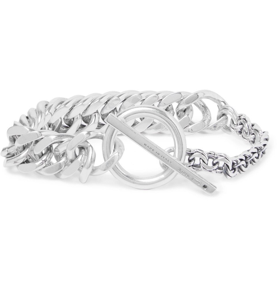 Photo: Bottega Veneta - Sterling Silver Chain Bracelet - Silver