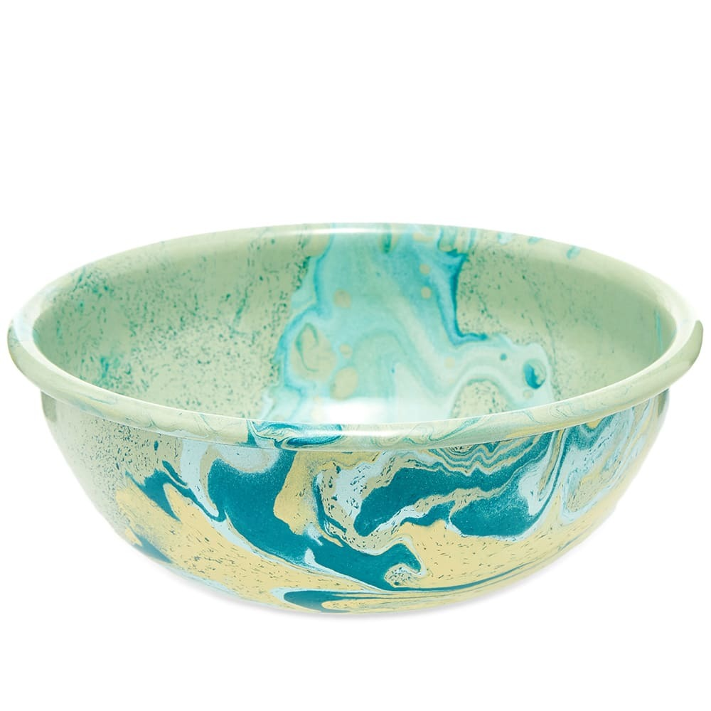 Photo: BORNN Enamelware New Marble 16cm Bowl