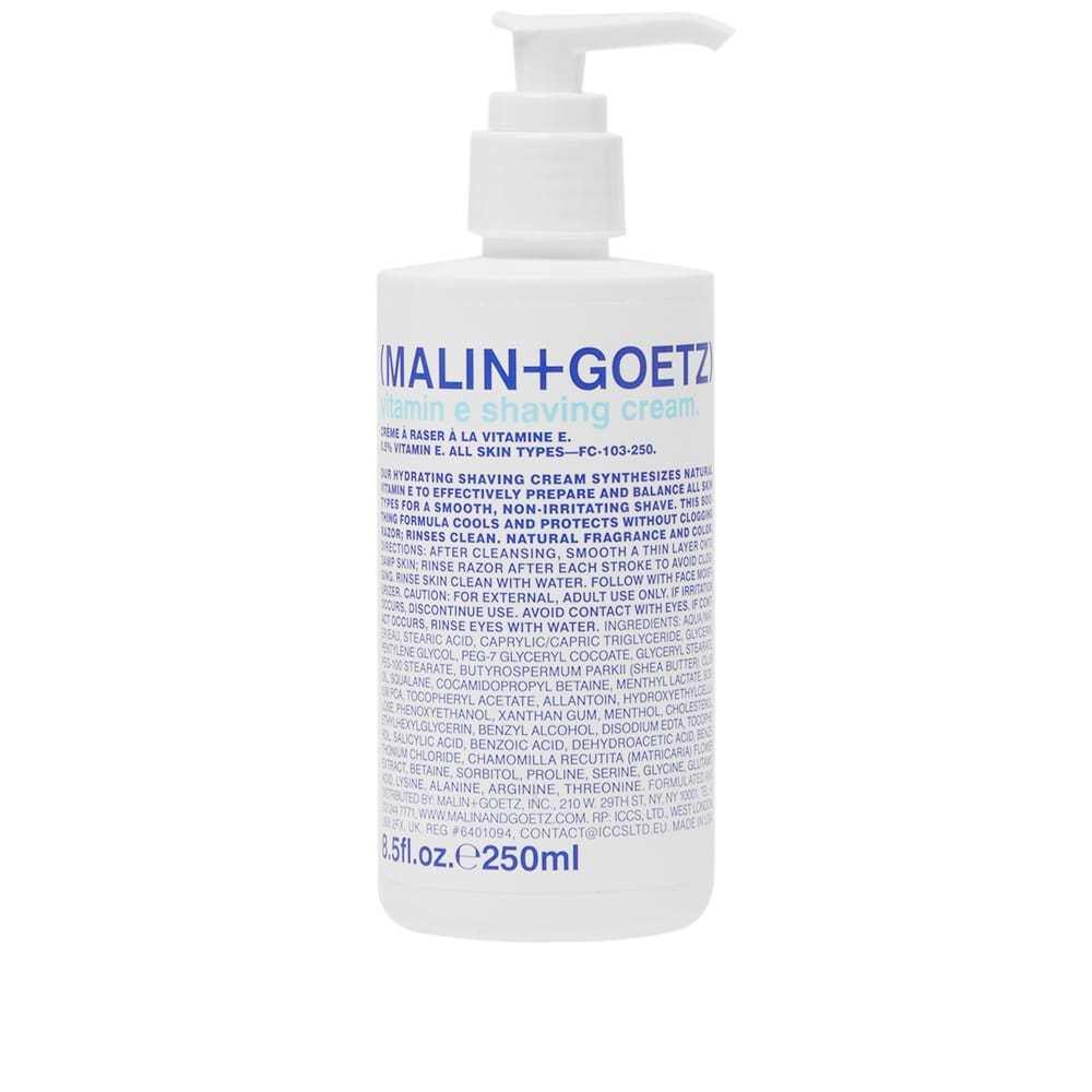 Photo: Malin + Goetz Vitamin E Shaving Cream