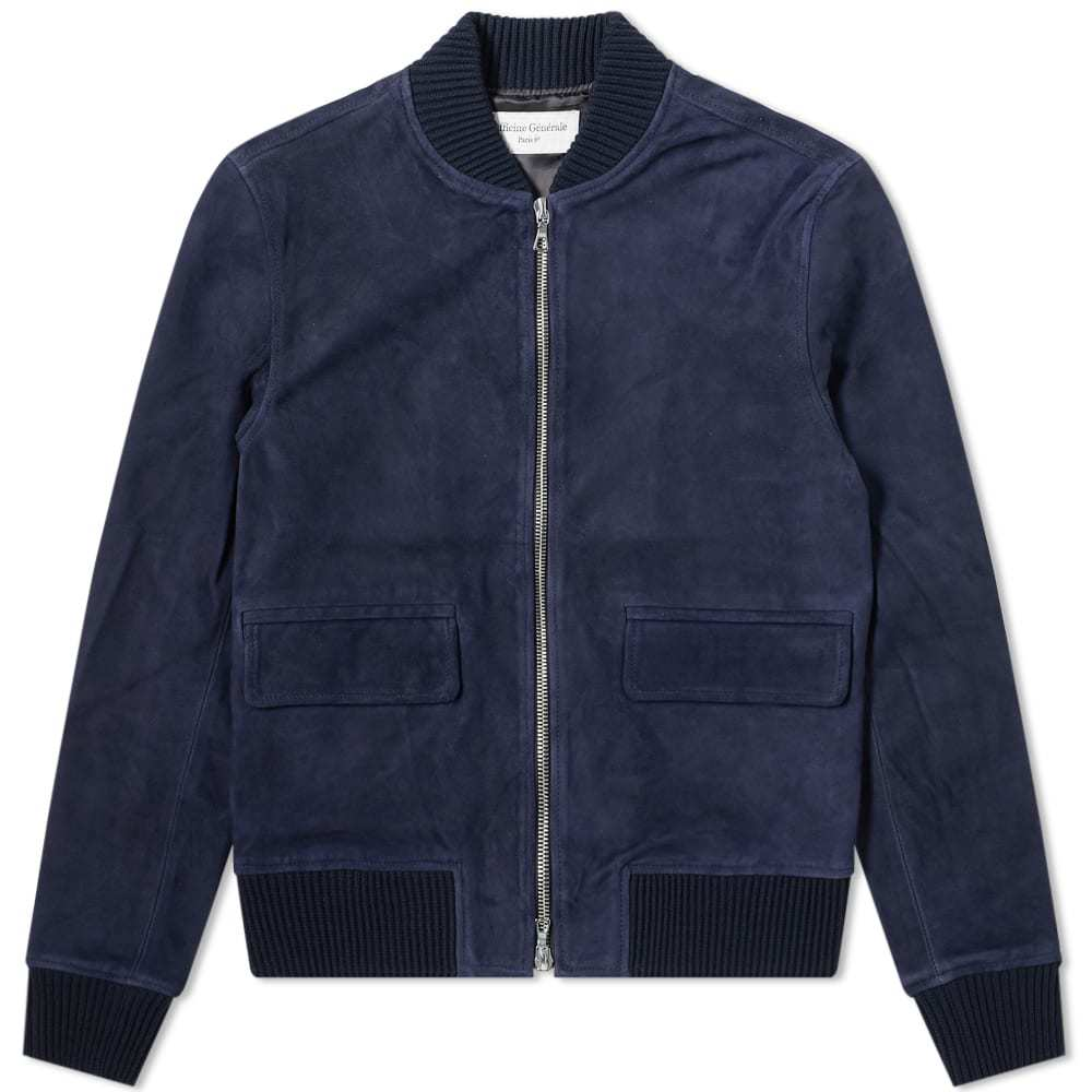 Photo: Officine Generale Floyd Suede Bomber Jacket