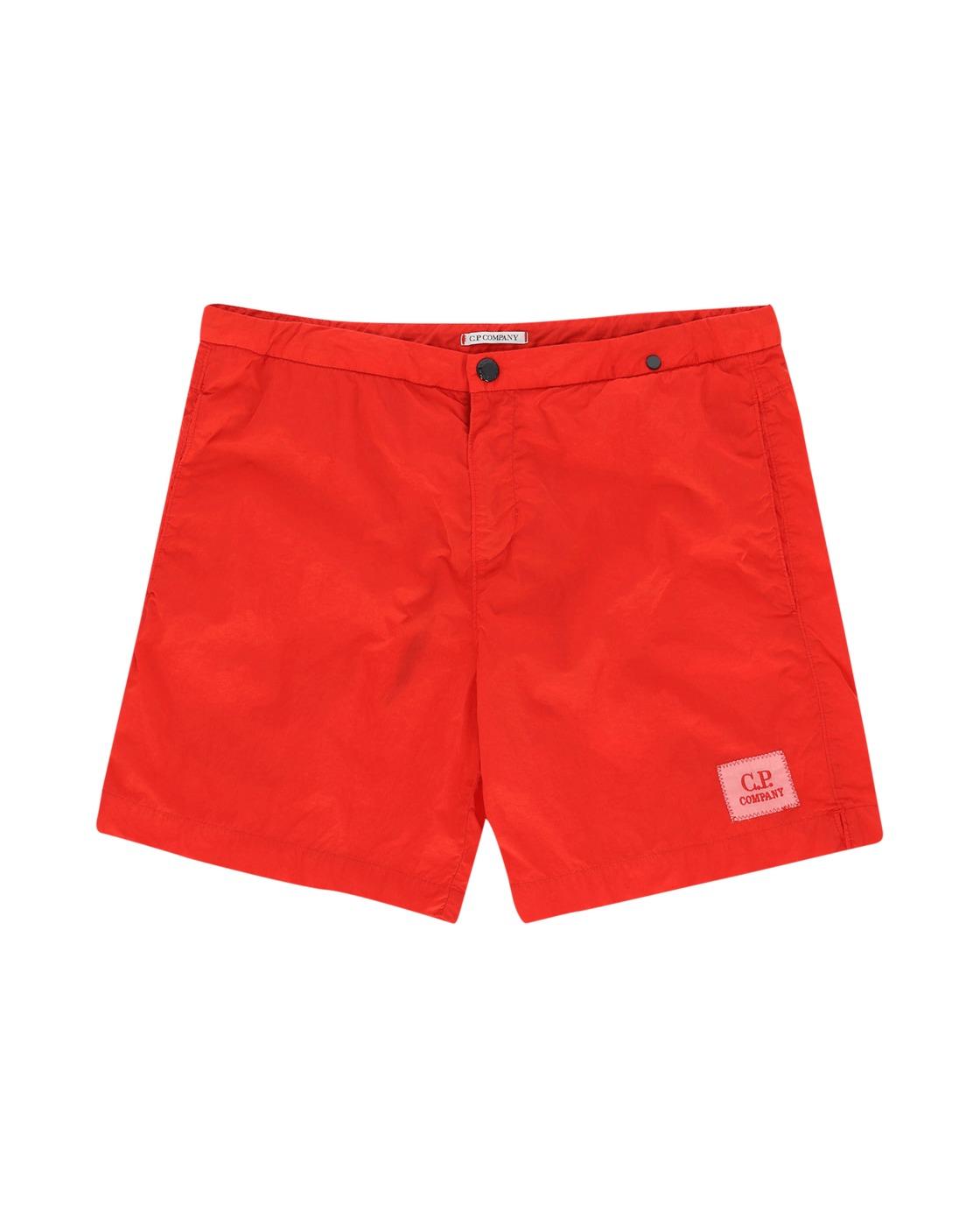 C.P. Company Beachwear Boxer High Risk Red