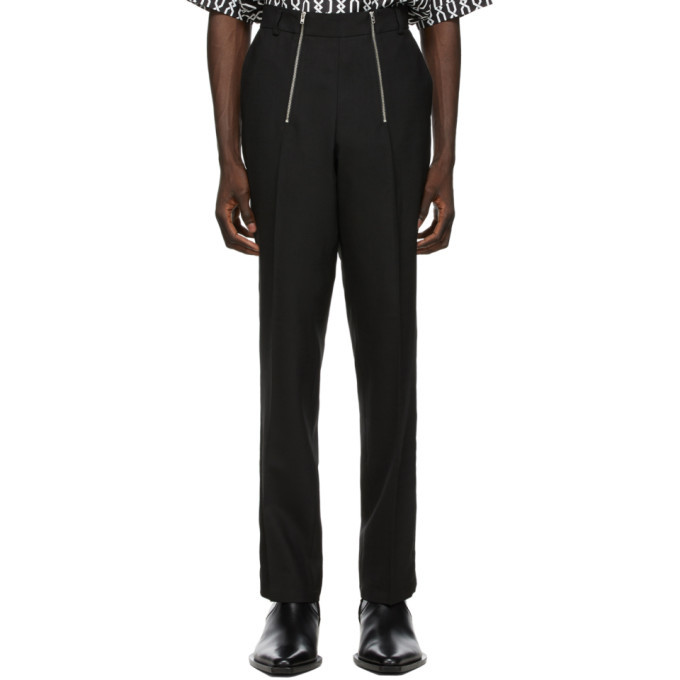 Photo: GmbH Black Wool Tailored Trousers