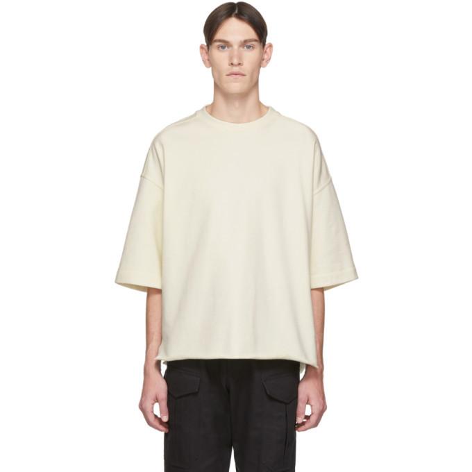 Photo: Jil Sanderand Off-White Three-Quarter Sleeve Sweatshirt